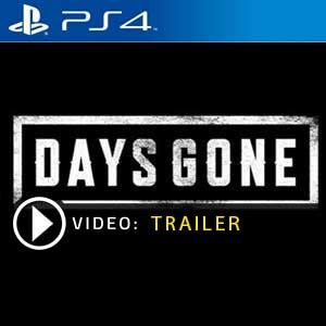 Days Gone PS4 en boîte ou à télécharger