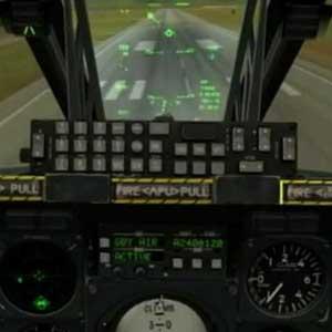 DCS A 10C Warthog Atterrissage