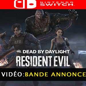 Dead by Daylight Resident Evil Chapter Nintendo Switch Bande-annonce Vidéo