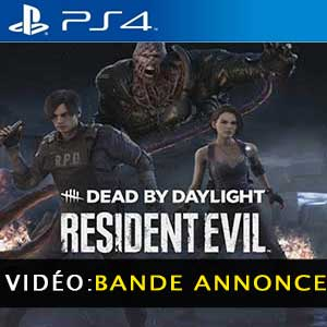 Dead by Daylight Resident Evil Chapter PS4 Bande-annonce Vidéo
