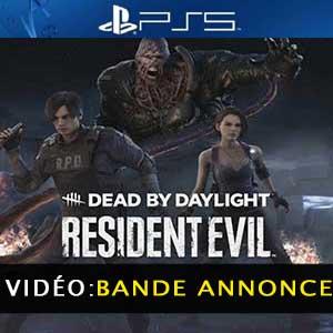 Dead by Daylight Resident Evil Chapter PS5 Bande-annonce Vidéo