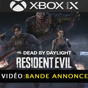 Dead by Daylight Resident Evil Chapter Xbox Series X Bande-annonce Vidéo