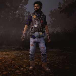 Dead By Daylight : Jake in Patches Veste en denim et pantalon en cuir
