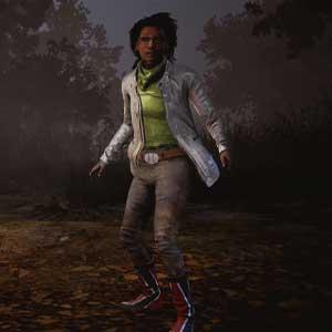 Dead By Daylight : Claudette en veste électrique et bottes rouges