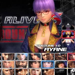 Dead or Alive 5: Last Round Ayane Costume