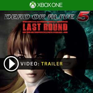 Dead or Alive 5 Last Round Xbox One en boîte ou à télécharger