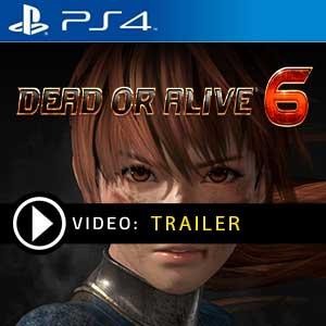 Dead or Alive 6 PS4 en boîte ou à télécharger