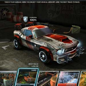 Death Rally Garage