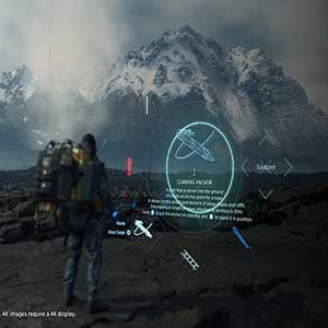 Death Stranding Climbing Anchor