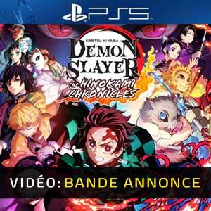 Demon Slayer Kimetsu no Yaiba The Hinokami Chronicles PS5 Bande-annonce Vidéo