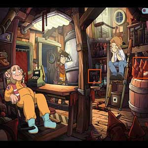 Deponia Doomsday Gameplay