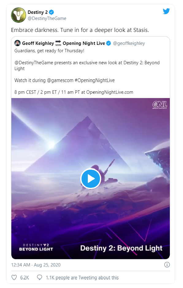Destiny 2 Twitter