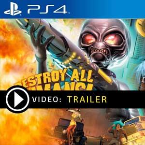 Acheter Destroy All Humans PS4 Code du jeu Comparer les prix