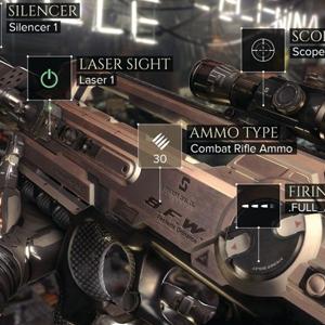 Deus Ex Mankind Divided Armes