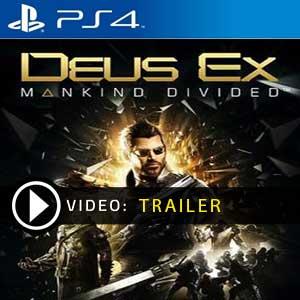 Deus Ex Mankind Divided PS4 en boîte ou à télécharger