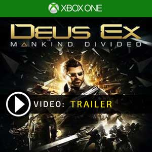 Deus Ex Mankind Divided Xbox One en boîte ou à télécharger