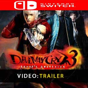 Acheter Devil May Cry 3 Nintendo Switch comparateur prix