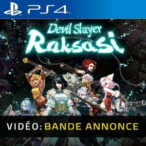 Devil Slayer Raksasi PS4 Bande-annonce Vidéo