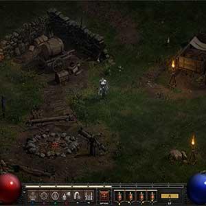 Diablo 2 Resurrected Camp