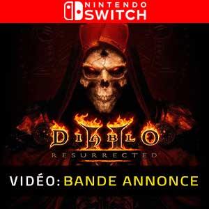 Diablo 2 Resurrected Nintendo Switch Vidéo de la bande-annonce