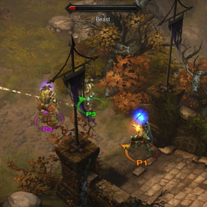 Diablo 3 Xbox One Environnement