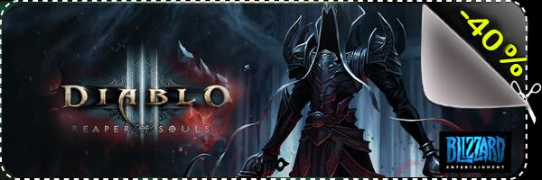 Comment acheter Diablo 3 Reaper of Souls en clé cd