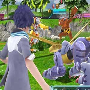 Pince mécanique Digimon