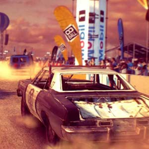 Dirt Showdown Course de dragsters