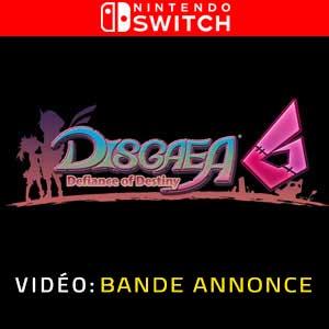 Disgaea 6 Defiance of Destiny Nintendo Switch Bande-annonce vidéo