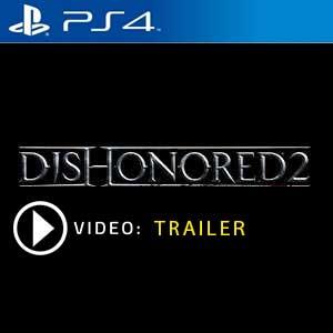 Dishonored 2 PS4 en boîte ou à télécharger