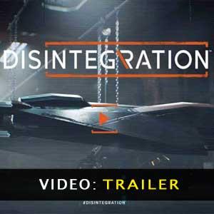 Disintegration Bande-annonce vidéo