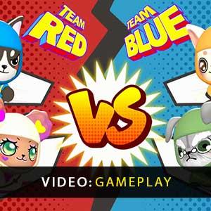 Doggie Ninja The Burning Strikers Gameplay Video