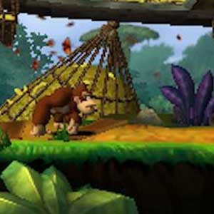 Donkey Kong Country Returns Nintendo 3DS Personnage
