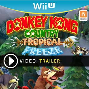 Donkey Kong Country Tropical Freeze Nintendo Wii U en boîte ou à télécharger