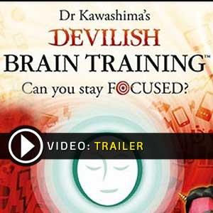 Dr Kawashimas Devilish Brain Training Nintendo 3DS en boîte ou à télécharger