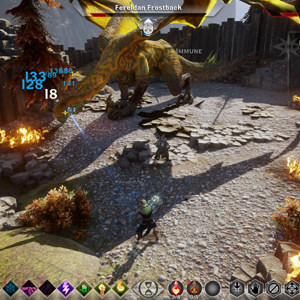 Dragon Age Inquisition Xbox One Combat