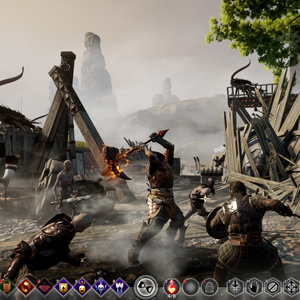Dragon Age Inquisition Xbox One Gameplay