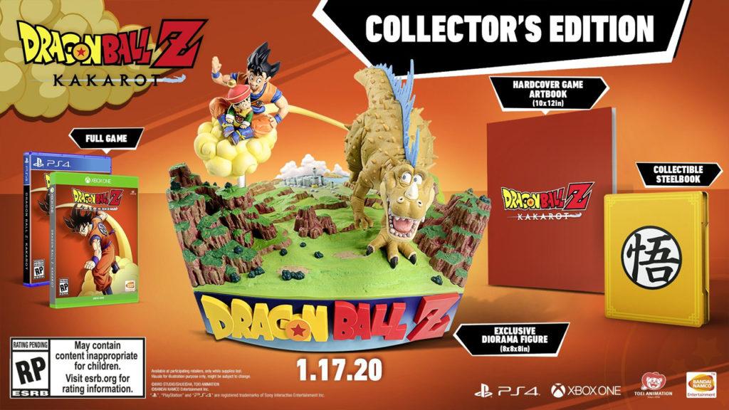 Dragon Ball Z Kakarot Edition Collector