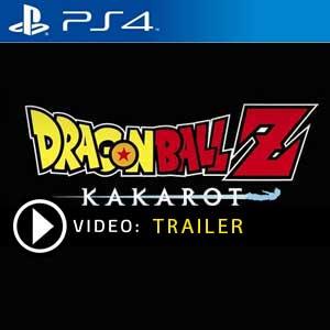 Dragon Ball Z Kakarot PS4 en boîte ou à télécharger
