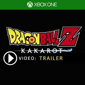 Dragon Ball Z Kakarot Xbox One en boîte ou à télécharger
