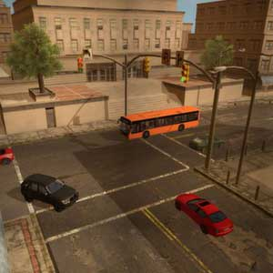Driving School Simulator Intersection