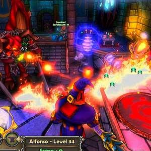 Dungeon Defenders Gameplay