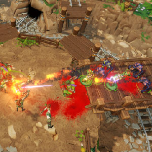 Dungeons 3 Gameplay Environment