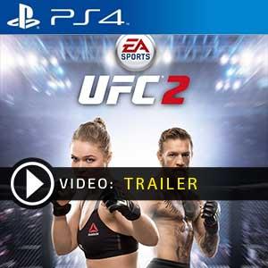 EA Sports UFC 2 PS4 en boîte ou à télécharger
