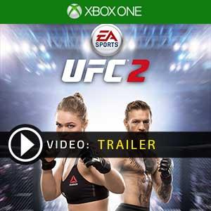 EA Sports UFC 2 Xbox one en boîte ou à télécharger
