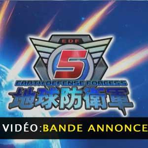 Earth Defense 5 PS4 Bande-annonce Vidéo