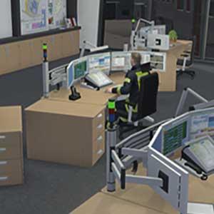 Urgence 112 Pompiers Simulateur Base de Pompiers
