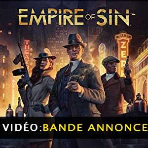 Vidéo de la bande annonce de l Empire of Sin