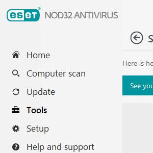Eset Nod32 Global License rapport de sécurité