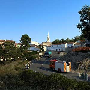 Euro Truck Simulator 2 Iberia Ville
